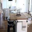 Ideas for kitchen islands in a small space - Bhg.com   Small Kitchen island