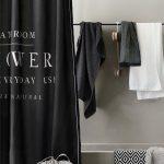 Rideau de douche : 15 rideaux de douche pour une salle de bains déco - Elle Décoration