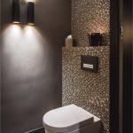 baignoire-carreaux-luxe-idées-gazés-wc-mosaïque-lueur-foncé wande-lueur-verre -...