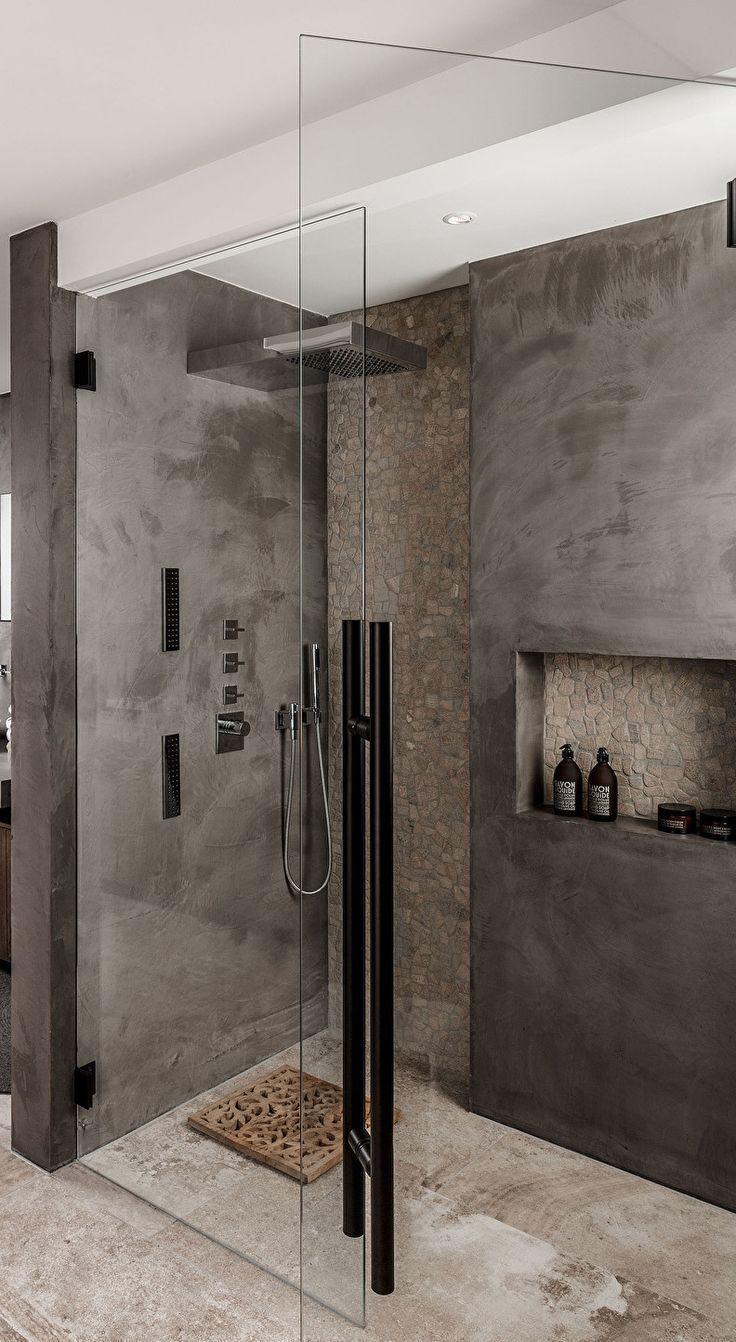 idées pour la douche dans la salle de bain